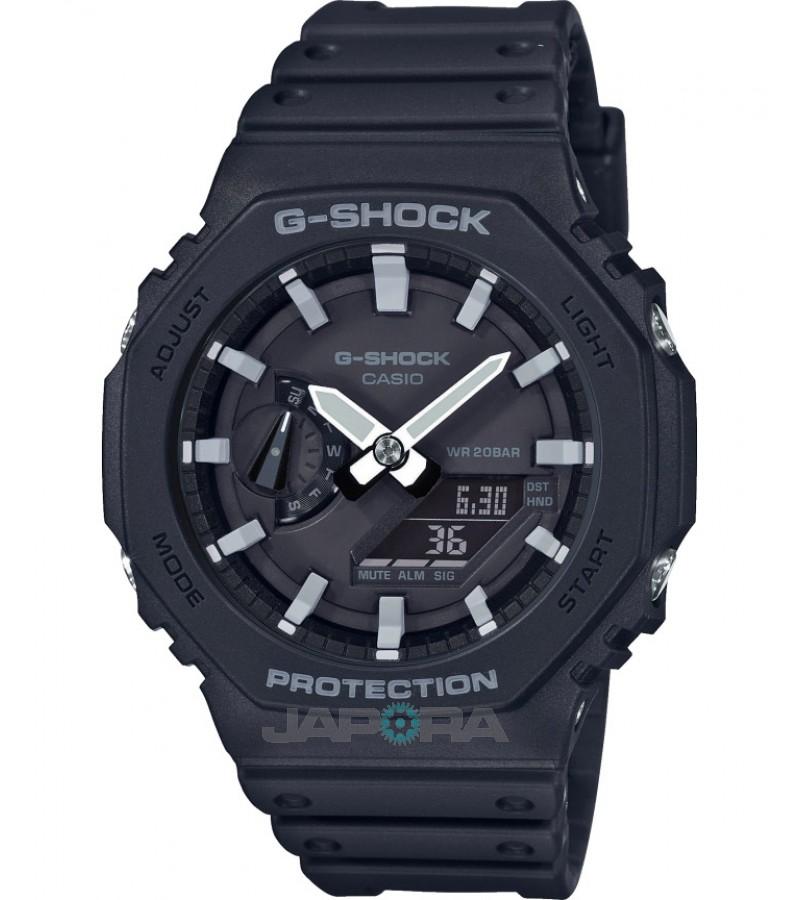 Ceas barbatesc Casio G-Shock GA-2100-1AER Carbon Core Guard (GA-2100-1AER) oferit de magazinul Japora