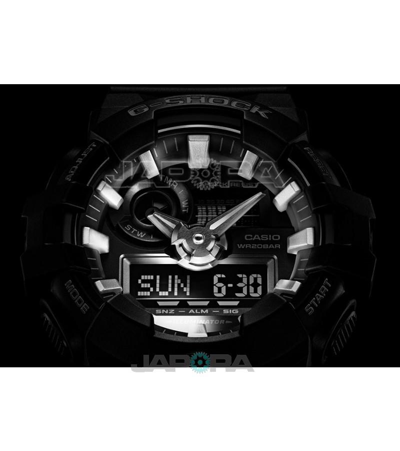 Ceas barbatesc Casio G-Shock GA-700-1BER Analog-Digital (GA-700-1BER) oferit de magazinul Japora