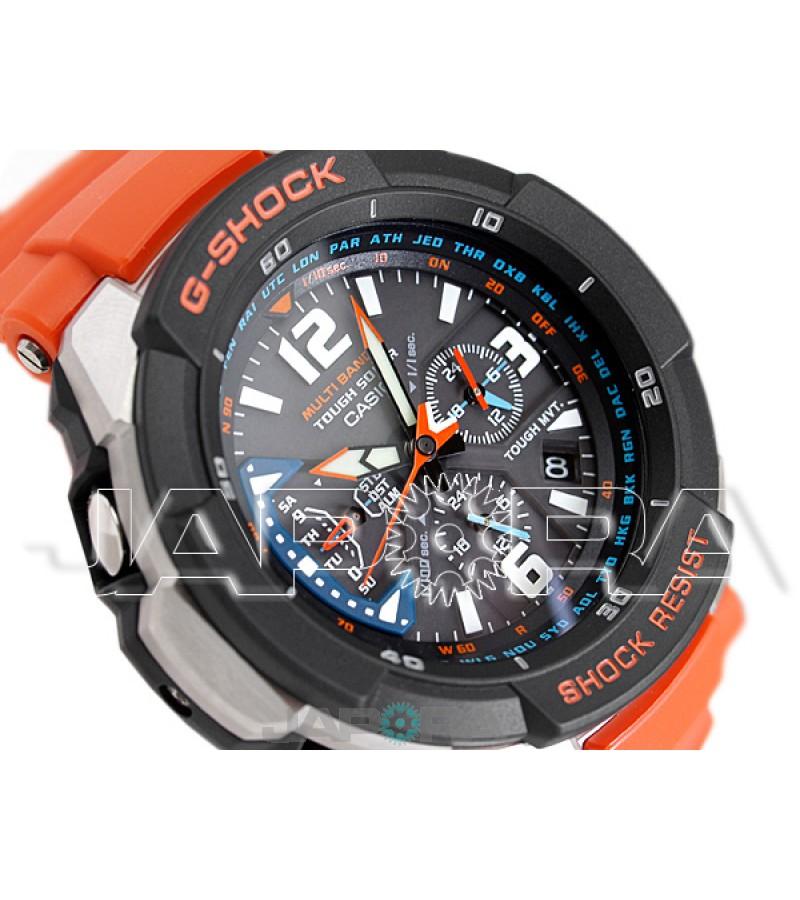 Ceas Casio G-Shock GW-3000M-4A MultiBand 6 Tough Solar Gravity Defier (GW-3000M-4AER) oferit de magazinul Japora