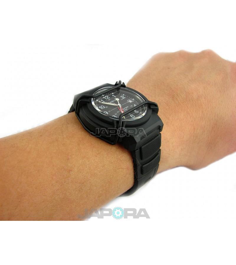 Ceas barbatesc Casio STANDARD HDA-600B-1B Analog: 10-Year Battery Life (HDA-600B-1BVEF) oferit de magazinul Japora