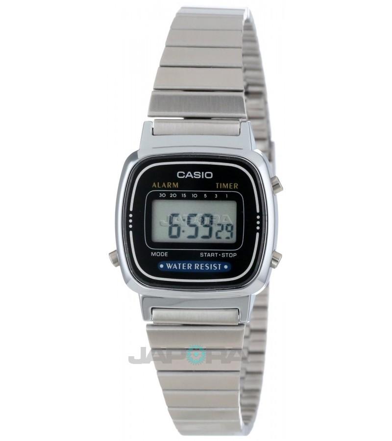 Ceas dama Casio STANDARD LA670WEA-1 Digital Retro (LA670WEA-1EF) oferit de magazinul Japora