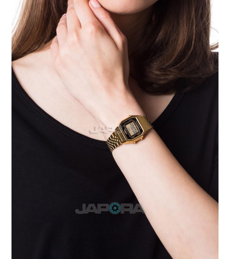 Ceas dama Casio Standard LA680WEGA-1ER Retro (LA680WEGA-1ER) oferit de magazinul Japora