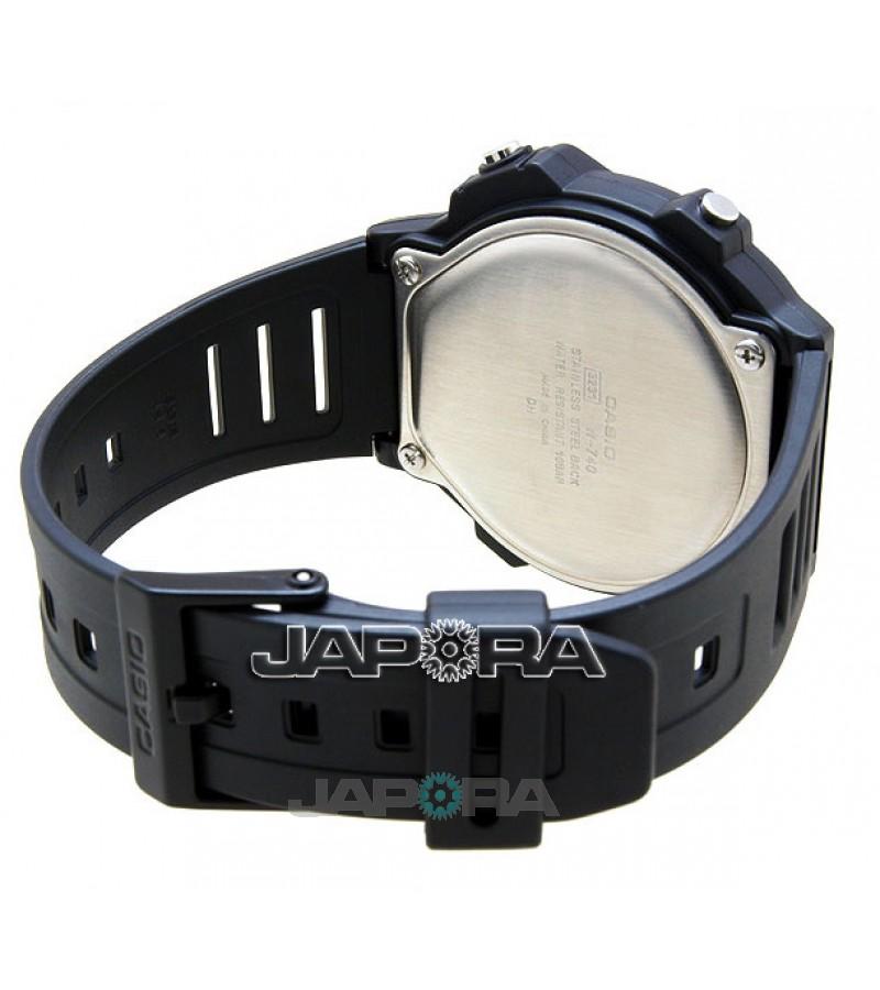 Ceas Casio STANDARD W-740-1VS Illuminator (W-740-1VS) oferit de magazinul Japora