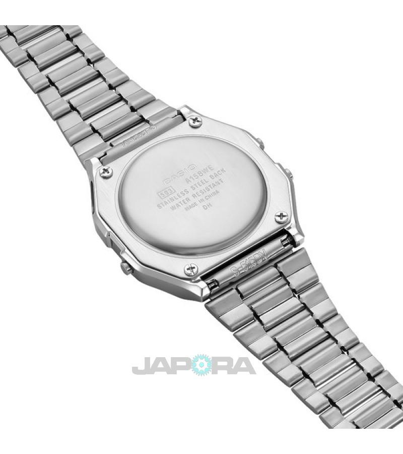 Ceas unisex Casio STANDARD A158WEA-9EF Retro (A158WEA-9EF) oferit de magazinul Japora