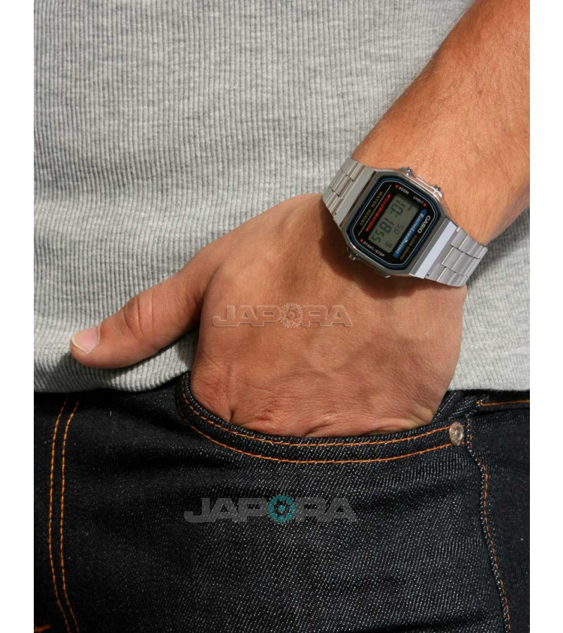 Ceas unisex Casio STANDARD A168WA-1YES Retro (A168WA-1YES) oferit de magazinul Japora
