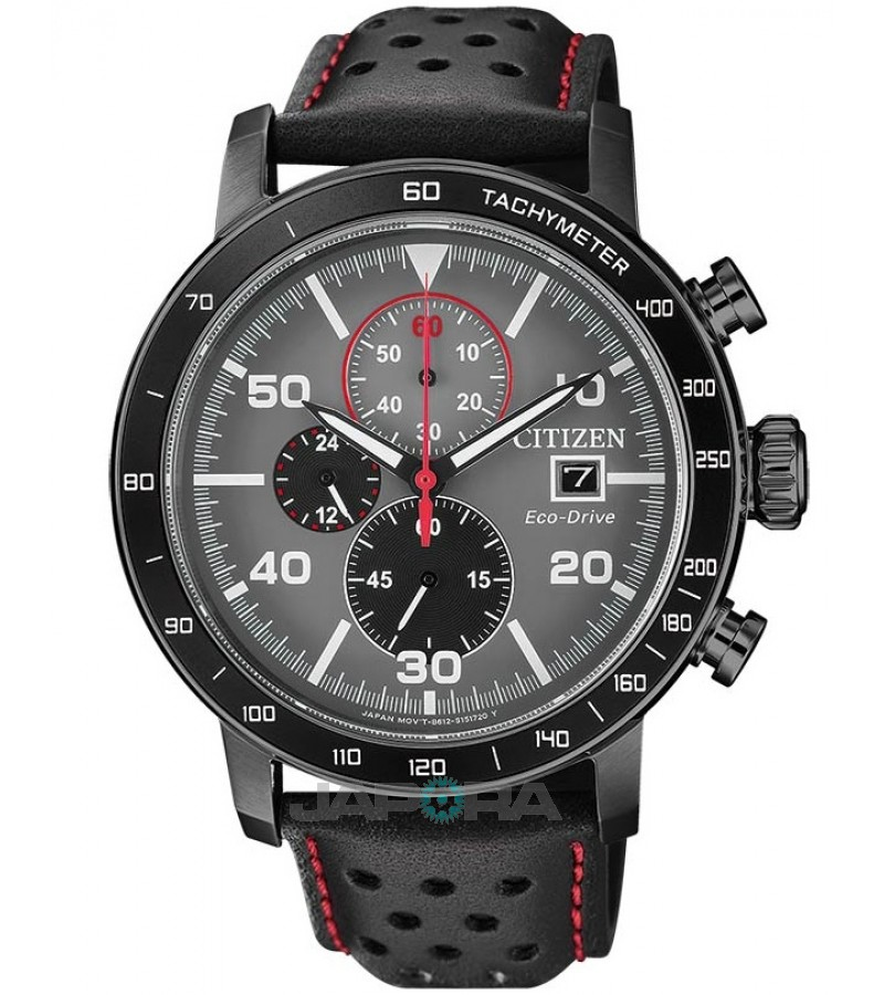 Ceas barbatesc Citizen CA0645-15H Eco-drive Cronograph and Tachymeter (CA0645-15H) oferit de magazinul Japora