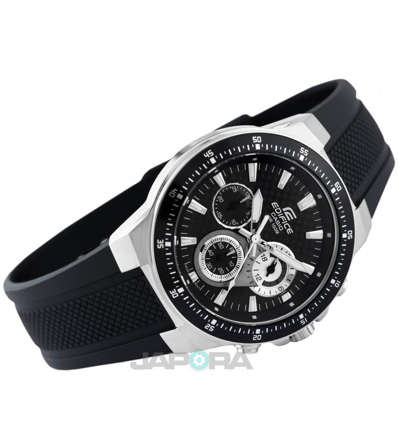 Ceas barbatesc Casio Edifice EF-552-1A Chronograph (EF-552-1AVEF) oferit de magazinul Japora