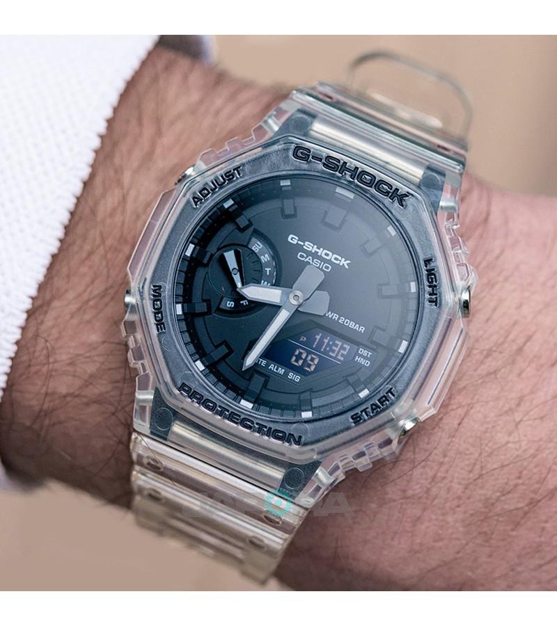 Ceas barbatesc Casio G-Shock GA-2100SKE-7AER Carbon Core Guard (GA-2100SKE-7AER) oferit de magazinul Japora