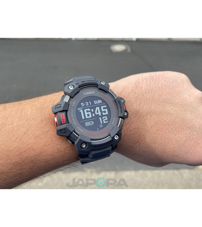 Ceas barbatesc Casio G-shock GBD-H1000-8ER G-SQUAD Solar 5-SENSOR Heart Rate Monitor and GPS for Workouts (GBD-H1000-8ER) oferit de magazinul Japora