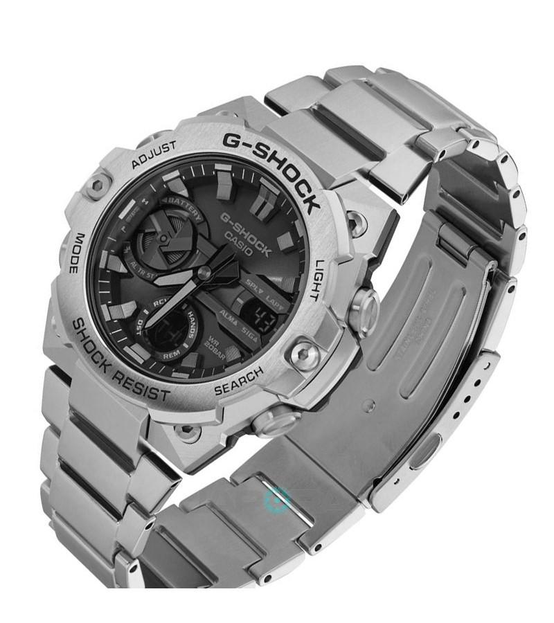 Ceas barbatesc Casio G-Shock GST-B400D-1AER Bluetooth Tough Solar G-STEEL (GST-B400D-1AER) oferit de magazinul Japora