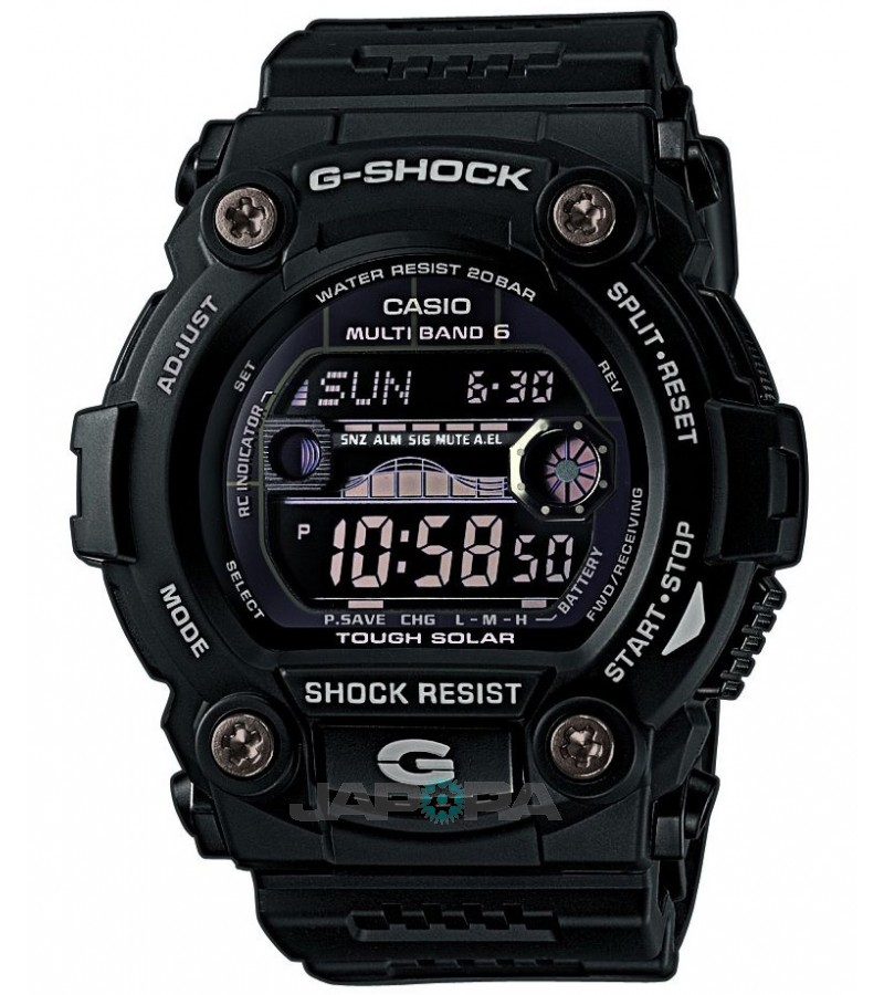 Ceas Casio G-Shock GW-7900B-1 MultiBand 6 Tough Solar (GW-7900B-1ER) oferit de magazinul Japora