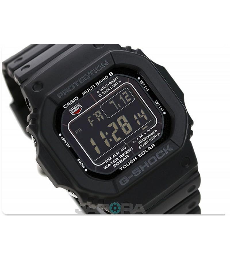 Ceas Casio G-Shock GW-M5610-1BER MultiBand 6 Tough Solar (GW-M5610-1BER) oferit de magazinul Japora
