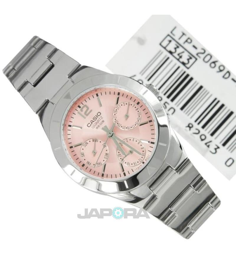 Ceas dama Casio STANDARD LTP-2069D-4A Analog: Ladies Metal Analog (LTP-2069D-4AVEF) oferit de magazinul Japora
