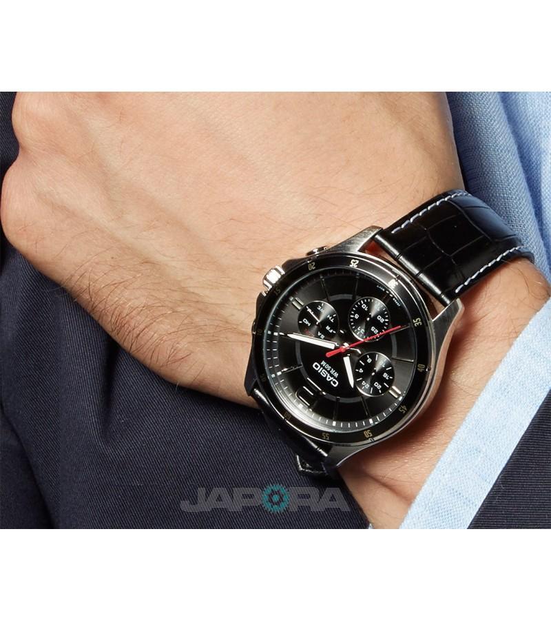 Ceas barbatesc Casio Standard MTP-1374L-1AVDF Analog (MTP-1374L-1AVDF) oferit de magazinul Japora