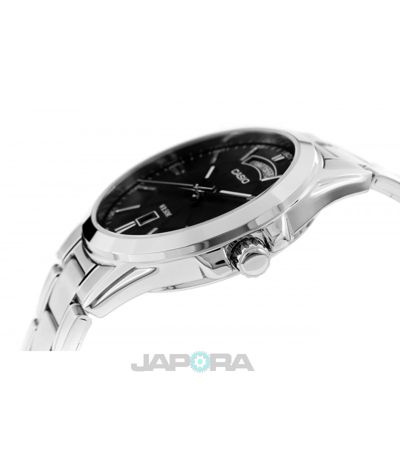 Ceas barbatesc Casio Standard MTP-1381D-1AVDF Analog: Metal Fashion (MTP-1381D-1AVDF) oferit de magazinul Japora