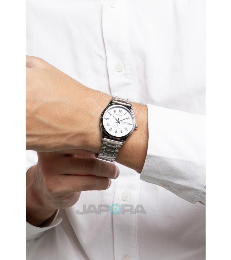 Ceas barbatesc Casio Standard MTP-V006D-7BUDF Analog (MTP-V006D-7BUDF) oferit de magazinul Japora