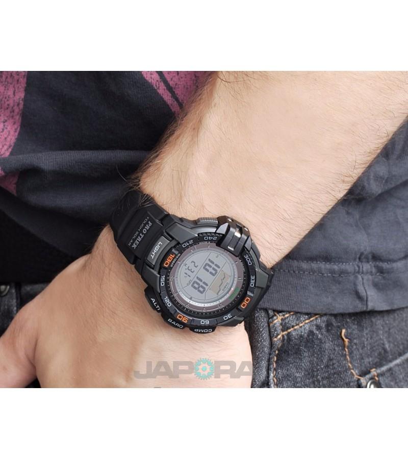 Ceas barbatesc Casio Pro Trek PRG-270-1ER Solar Triple Sensor Version 3 (PRG-270-1ER) oferit de magazinul Japora