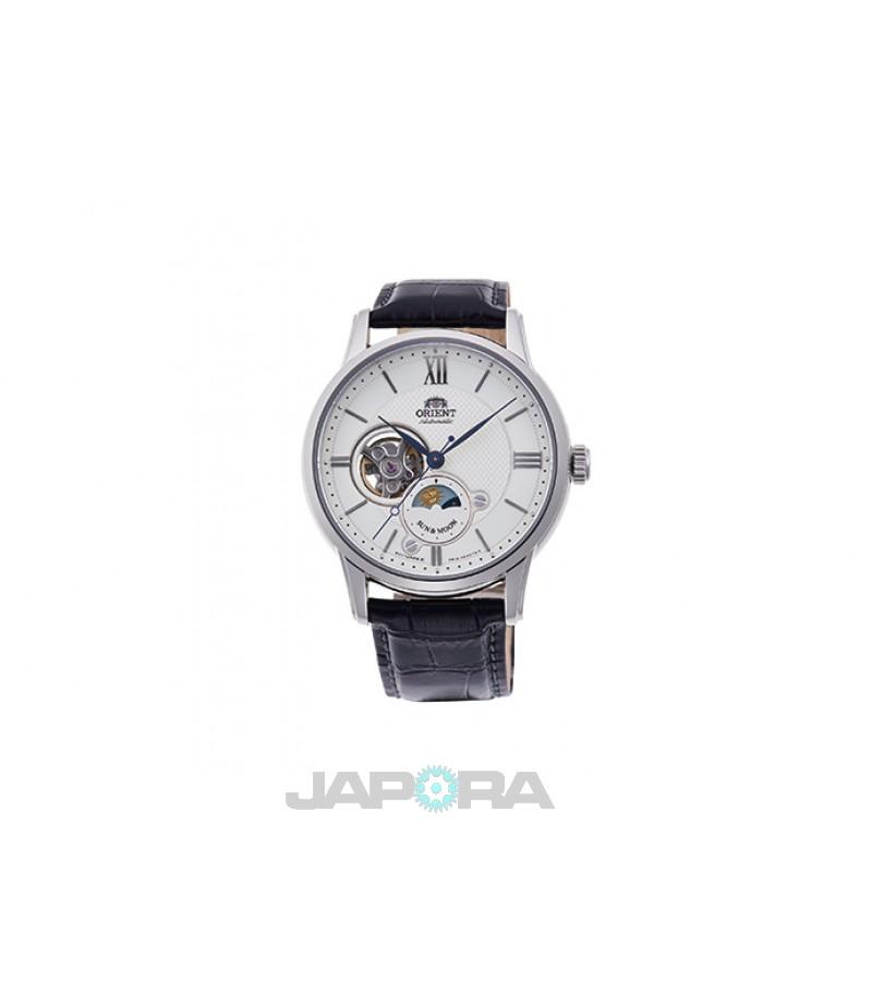 Ceas barbatesc Orient RA-AS0005S Open Heart Automatic (RA-AS0005S) oferit de magazinul Japora