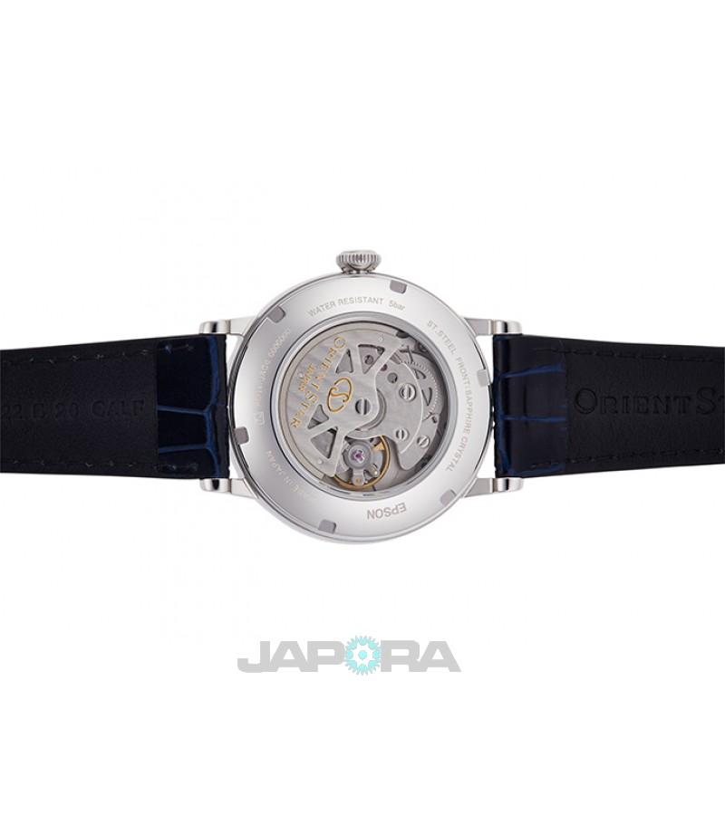 Ceas barbatesc Orient RE-AU0003L ORIENT STAR Automatic Skeleton Sapphire (RE-AU0003L) oferit de magazinul Japora