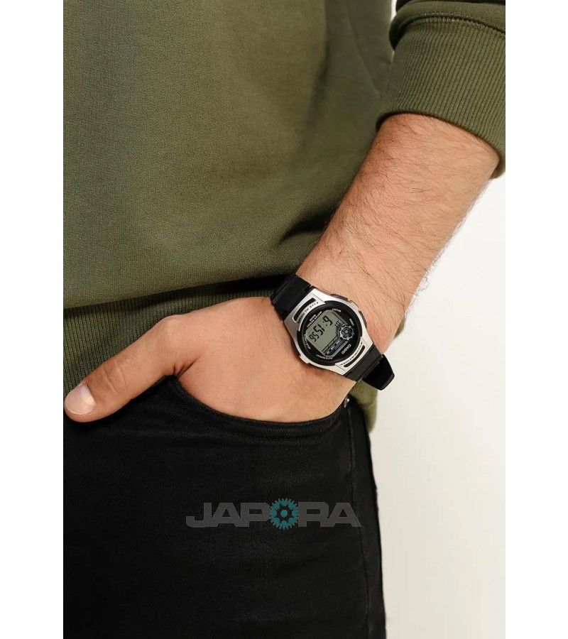 Ceas barbatesc Casio STANDARD W-213-1A Digital: Sporty Digital (10-Year battery) (W-213-1AVES) oferit de magazinul Japora