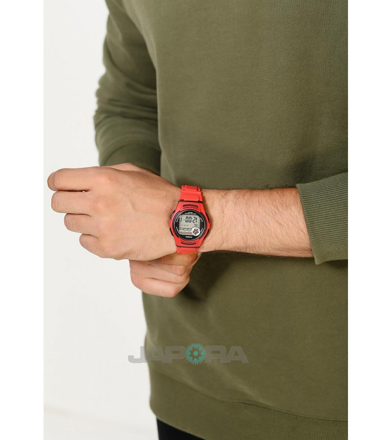 Ceas barbatesc Casio STANDARD W-213-4A Digital: Sporty Digital (10-Year battery) (W-213-4AVES) oferit de magazinul Japora