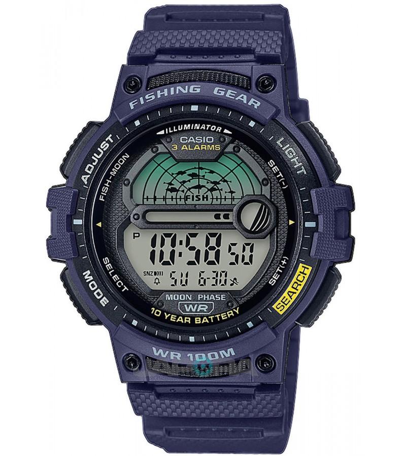 Ceas barbatesc Casio OUTGEAR WS-1200H-2AVEF Fishing Gear 10-Year Battery Life pentru pescuit (WS-1200H-2AVEF) oferit de magazinul Japora