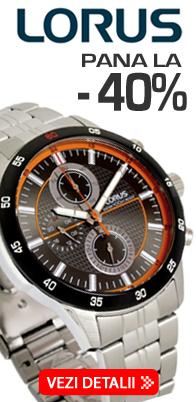 Vezi colectia de ceasuri LORUS