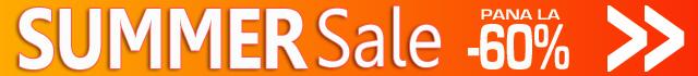 SUMMER SALE - Promotii de Vara la mii de produse