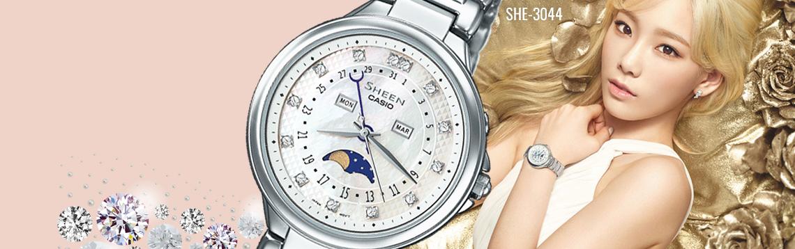 Ceasuri dama Casio Sheen SHE-3044