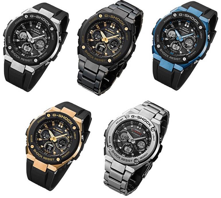 Noile ceasuri Casio G-Shock G-Steel GST-W300 si GST-W310